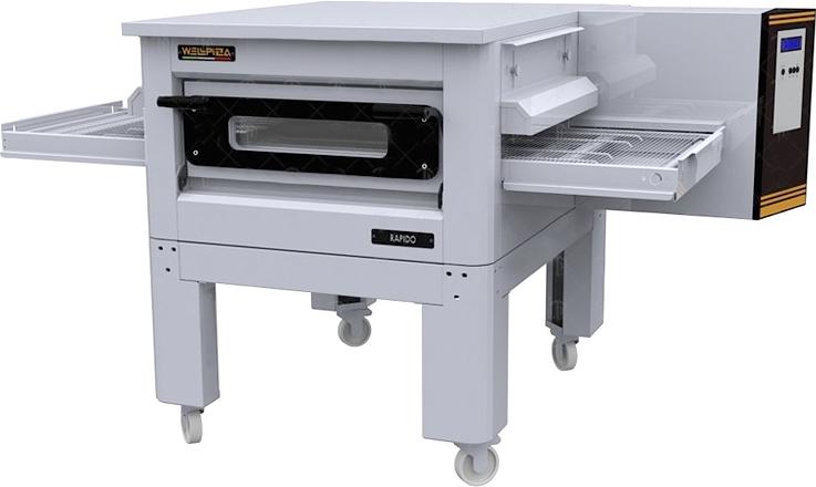 Конвейерная печь WLBake WellPizza Rapido 32