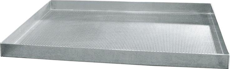 Перфорированный алюминиевый противеньWLBakeW811610 ссиликоновымпокрытием