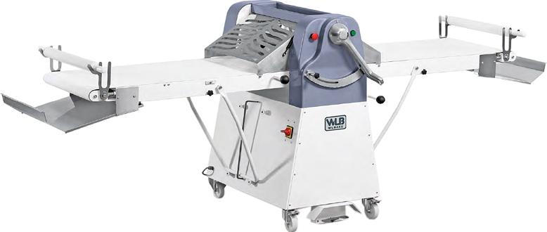 Тестораскаточная машина WLBakeDSF600-1400VAR