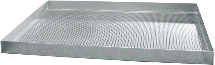 Перфорированный алюминиевый противень WLBake W811626