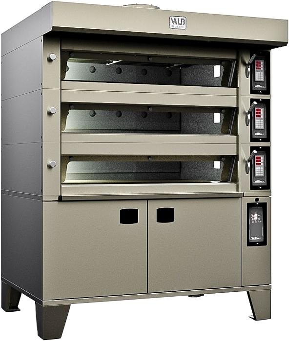 Подовая хлебопекарная печь WLBake 3D.4T4060